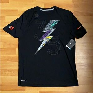 Nike drifit cotton What The KD shirt size large